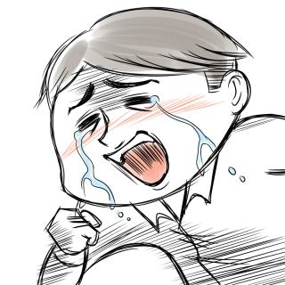 社長泣き2